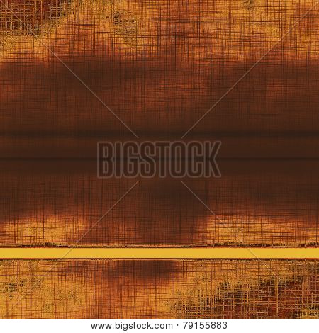 Old texture as abstract grunge background. With different color patterns: black; gray; yellow (beige); brown