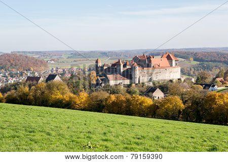 Castle Harburg in bavaria, Germany