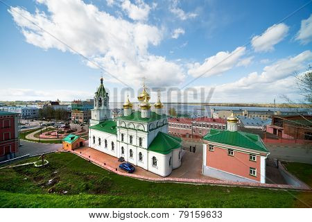 Church Of The Nativity Of John The Baptist. Russia