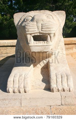 Lion of Anitkabir, Ankara - Turkey, Mausoleum of Ataturk