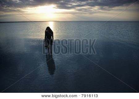 Solitude At The Dark Sea