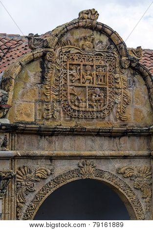 La Paz, Bolivia - The National Folklore Museum - entrance