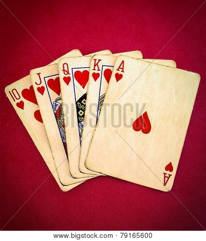 a hand of poker