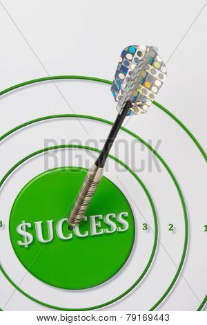 Success Target With Dart