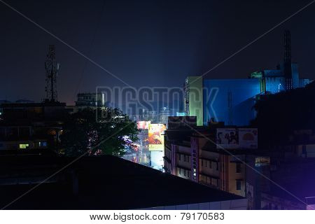 Mangalore City at night