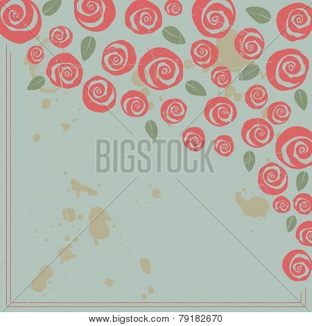 Valentine and wedding themed frame border