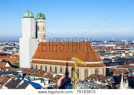 Church Of Our Lady In Munich
