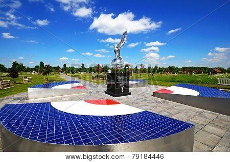 RAF Memorial, Alrewas.