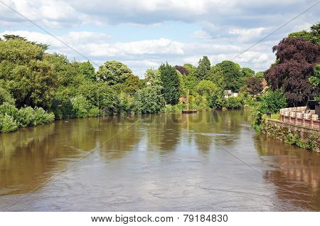 River Wye, Hereford.