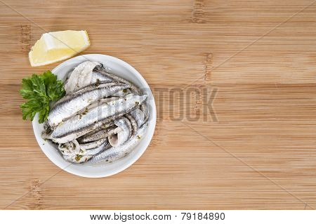 Pickled Anchovis