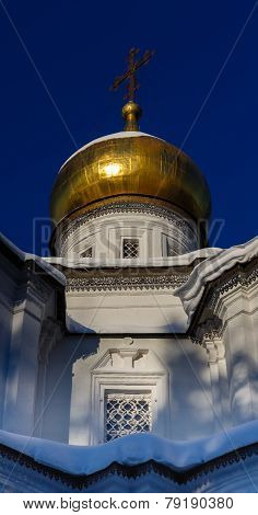 Gilded Dome And Cross