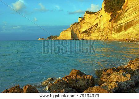 rock on coast