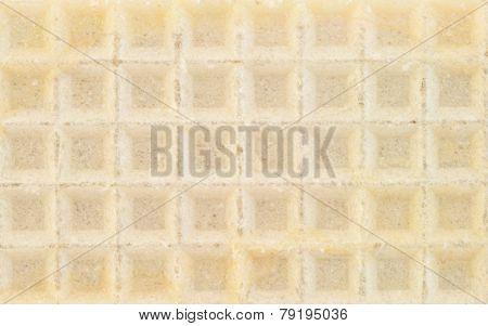Beautiful Background Of Waffle Of Wafer