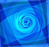 stock photo of twist  - Twist Abstract blue background Twist Abstract blue background - JPG