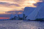 foto of fjord  - Ilulissat Icefjord  - JPG