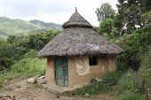 image of mud-hut  - Traditional Ethiopian house - JPG