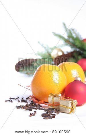 Christmas decoration - studio shot