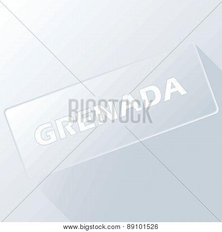 Grenada unique button