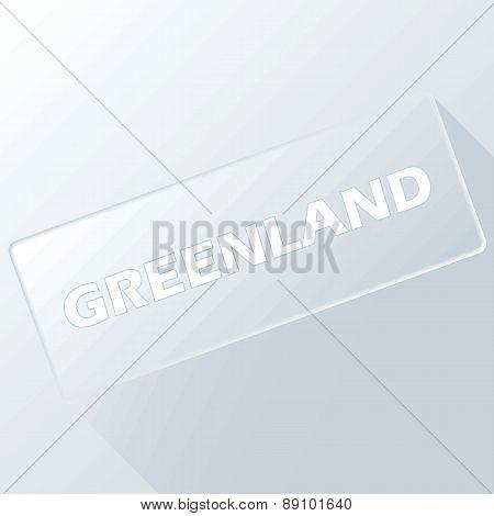 Greenland unique button