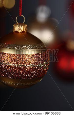 Christmass bauble - studio shot