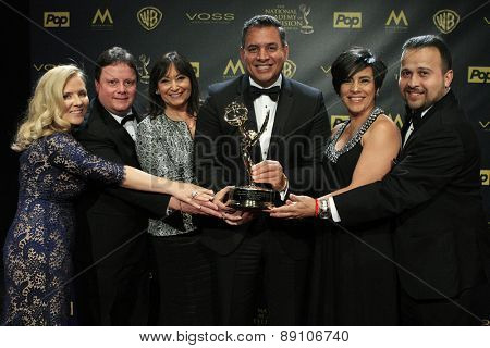 BURBANK - APR 26: Un Nuevo Dia at the 42nd Daytime Emmy Awards Gala at Warner Bros. Studio on April 26, 2015 in Burbank, California
