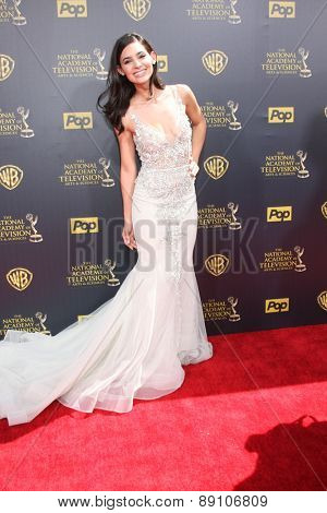 LOS ANGELES - APR 26:  Camila Banus at the 2015 Daytime Emmy Awards at the Warner Brothers Studio Lot on April 26, 2015 in Burbank, CA