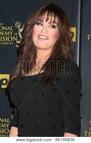 LOS ANGELES - APR 26:  Marie Osmond at the 2015 Daytime Emmy Awards at the Warner Brothers Studio Lot on April 26, 2015 in Los Angeles, CA