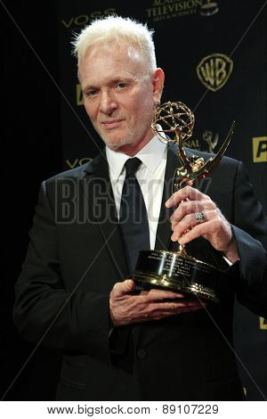 BURBANK - APR 26: Anthony Geary at the 42nd Daytime Emmy Awards Gala at Warner Bros. Studio on April 26, 2015 in Burbank, California