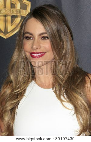 LAS VEGAS - APR 21:  Sofia Vergara at the Warner Brothers 2015 Presentation at Cinemacon at the Caesars Palace on April 21, 2015 in Las Vegas, CA