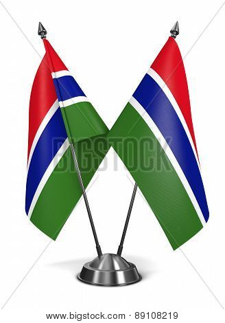 Gambia - Miniature Flags.
