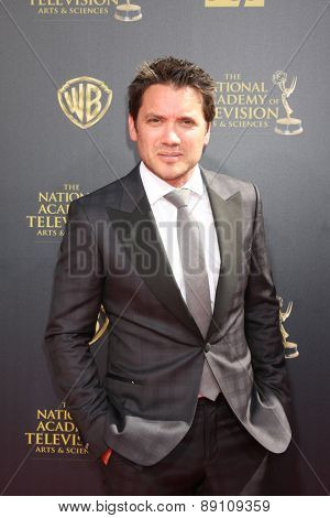 LOS ANGELES - APR 26:  Dominic Zamprogna at the 2015 Daytime Emmy Awards at the Warner Brothers Studio Lot on April 26, 2015 in Burbank, CA