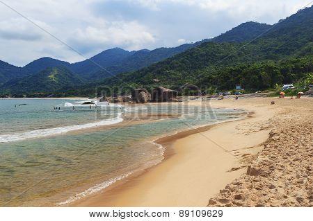 Beach Praia Do Cepilho, Trindade, Paraty Bay, Brazil