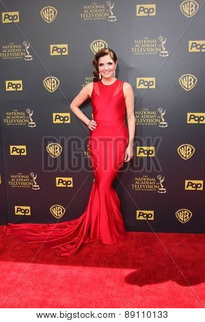 LOS ANGELES - APR 26:  Jen Lilley at the 2015 Daytime Emmy Awards at the Warner Brothers Studio Lot on April 26, 2015 in Burbank, CA