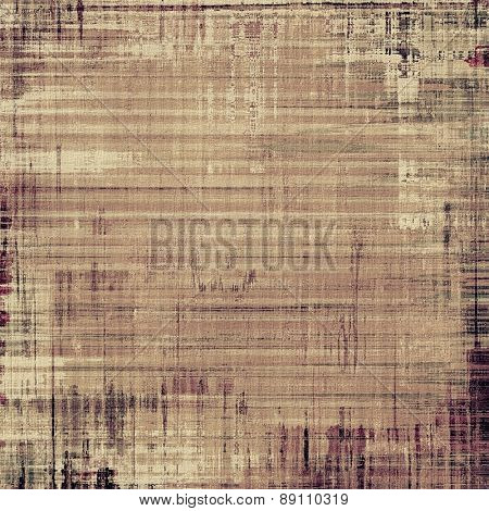 Grunge texture, Vintage background. With different color patterns: yellow (beige); brown; gray; black