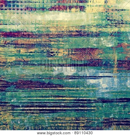 Grunge retro vintage texture, old background. With different color patterns: yellow (beige); green; purple (violet); blue