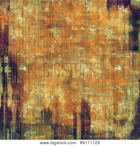 Grunge colorful background. With different color patterns: yellow (beige); brown; gray; black