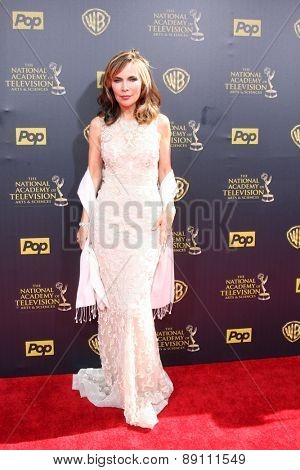 LOS ANGELES - APR 26:  Lauren Koslow at the 2015 Daytime Emmy Awards at the Warner Brothers Studio Lot on April 26, 2015 in Burbank, CA