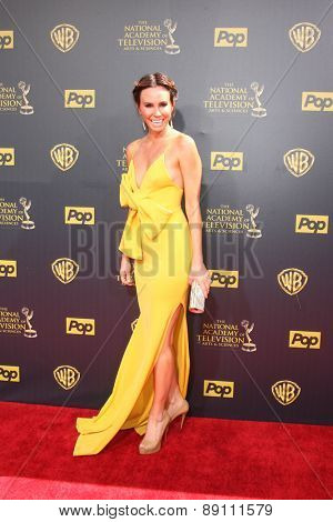 LOS ANGELES - APR 26:  Keltie Knight at the 2015 Daytime Emmy Awards at the Warner Brothers Studio Lot on April 26, 2015 in Burbank, CA