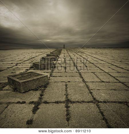 Alone In The Square