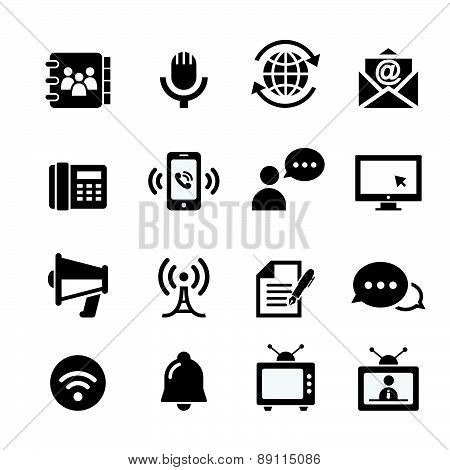 Web Communication Icon