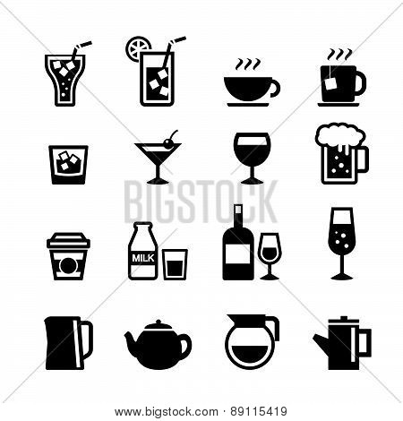Drink Icon Set