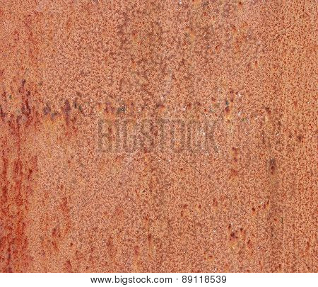Old Rusty Metallic Background.