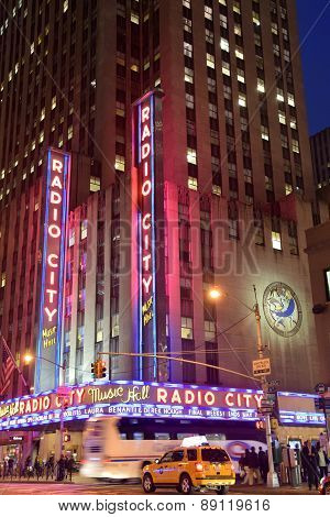 Radio City Music Hall In New York
