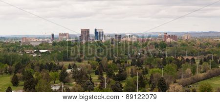 Boise Idaho Downtown City Skyline Western United States