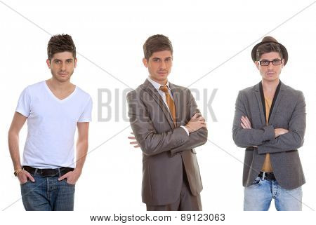 fashion man, different mens styles, outfits, clothes.