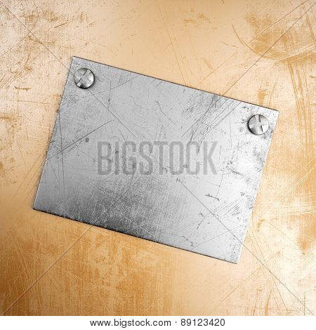 Grunge Metal Background