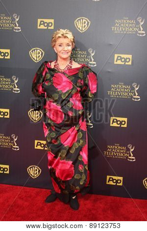 LOS ANGELES - APR 26:  Peggy McKay at the 2015 Daytime Emmy Awards at the Warner Brothers Studio Lot on April 26, 2015 in Burbank, CA