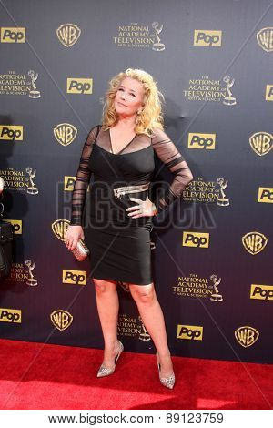 LOS ANGELES - APR 26:  Melody Thomas Scott at the 2015 Daytime Emmy Awards at the Warner Brothers Studio Lot on April 26, 2015 in Burbank, CA