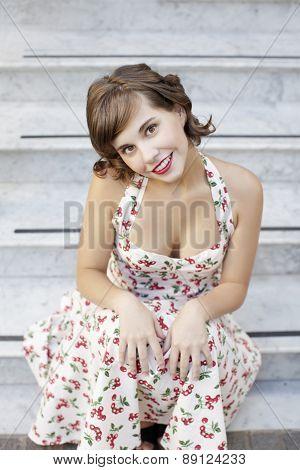 stylish retro Girl