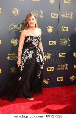 LOS ANGELES - APR 26:  Melissa Rivers at the 2015 Daytime Emmy Awards at the Warner Brothers Studio Lot on April 26, 2015 in Burbank, CA